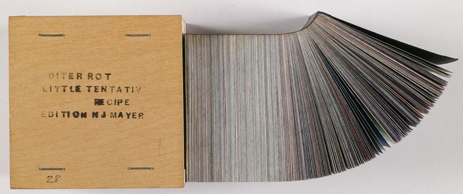 Dieter Roth, Little Tentative Recipe 1969